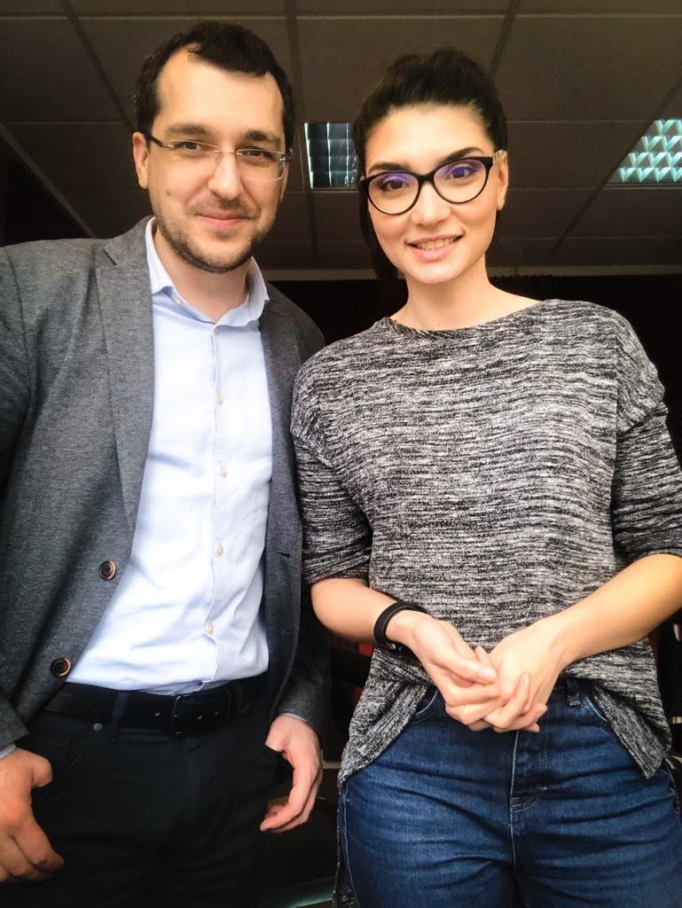 Cu Vlad Voiculescu la Radio HIT