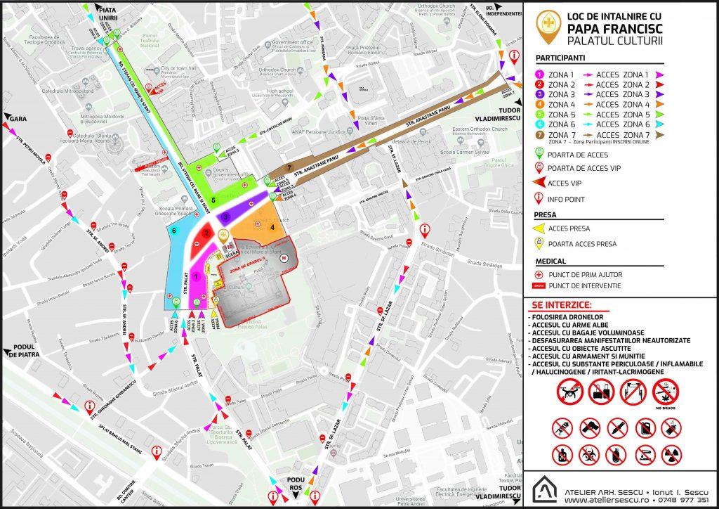 Atenție Ieșeni Străzi Inchise Mașini Care Nu Au Voie Să Parcheze